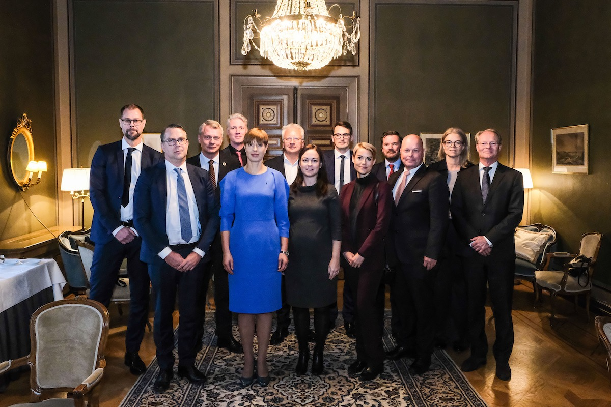 Round table with the Estonian President