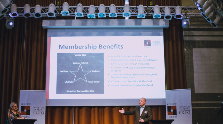 We asked our members which are the most important benefits of being a member of Keiretsu Forum Nordics, these are some of the answers we got back.