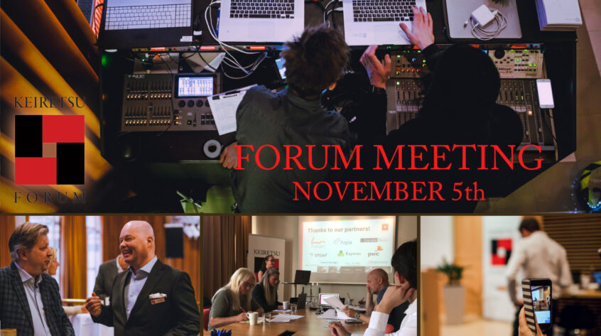 Join our Forum Meeting